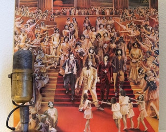 """The Rolling Stones Vinyl Record Album """"It's Only Rock and Roll"""" (Original 1974 RS Records w/photo inner sleeve, """"Time Waits for No One"""")"""
