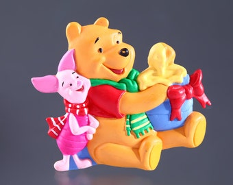 Winnie the Pooh Brooch Disney Jewelry Pin Broach Disneyland Disneyworld Piglet