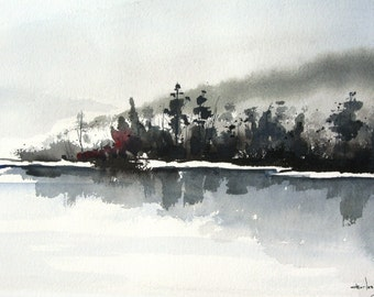 Morning Mist - Original Painting