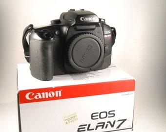 Canon Elan 7 Camera Original Box