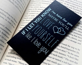 SALE! One Direction Little Things Bookmark - One Direction - Harry Styles -  Niall Horan -  Liam Payne - Zayn Malik -  Louis Tomlinson