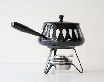 Vintage Cathrineholm - Mid Century Modern Fondue Pot Set