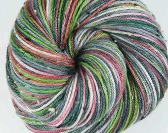 THURSTON LAVA TUBE Superwash Merino/Nylon Hand-dyed Variegated Tweed Fingering/Sock Yarn