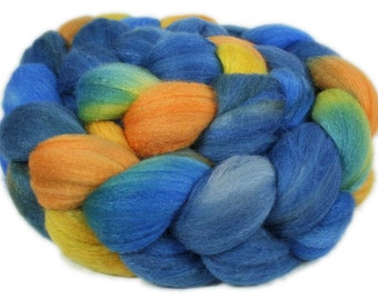 PORTOFINO Merino/Silk hand-dyed roving - 4.0 oz