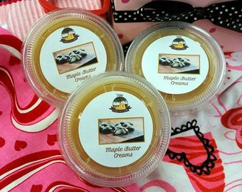 Maple Butter Creams Melting Tart