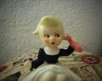 Adorable Vintage Figurine