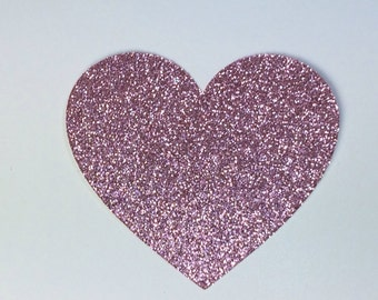 Large Heart Die Cuts, Heart Cutouts, Glitter Hearts, Heart Cut Out, Die Cut Hearts, Cardstock Hearts, Paper Hearts, Paper Heart Cutouts