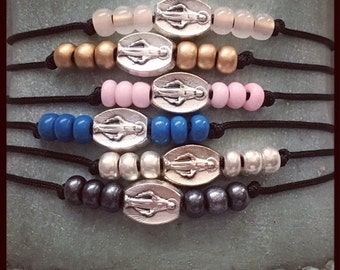 BLESSED MOTHER MARY bracelets