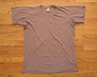 mens vintage military issue t shirt