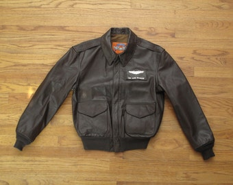 mens vintage Cooper A2 flight jacket