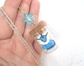 Pokémon Necklace - VAPOREON - Toy in a Bottle - Gamer Gear