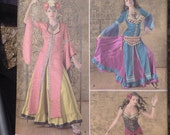 Simplicity 2159 R5 Sizes 14-22 Belly Dancing Indian Bollywood Dance Costume Pattern