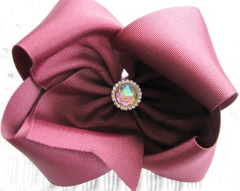 2903 large Texas A&M Aggie boutique bow