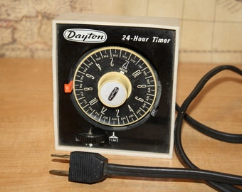 24-hour Time Switch Control Timer - Dayton 2E388 - item #1820