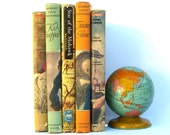 Vintage Book Collection, Children's Classics, We Were There, Adventure Historical, Pearl Harbor, Kidnapped, Star of Mohawk, Treasure Island