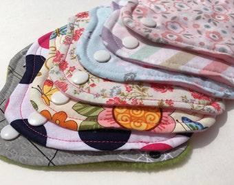 """Thong Liners Cotton Fleece 6"""" Patchwork Christmas"""