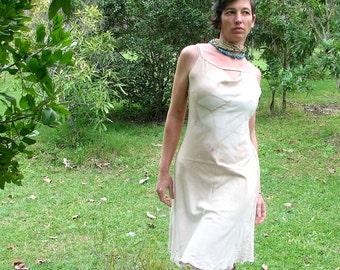 sexy festival dress eucalyptus dyed