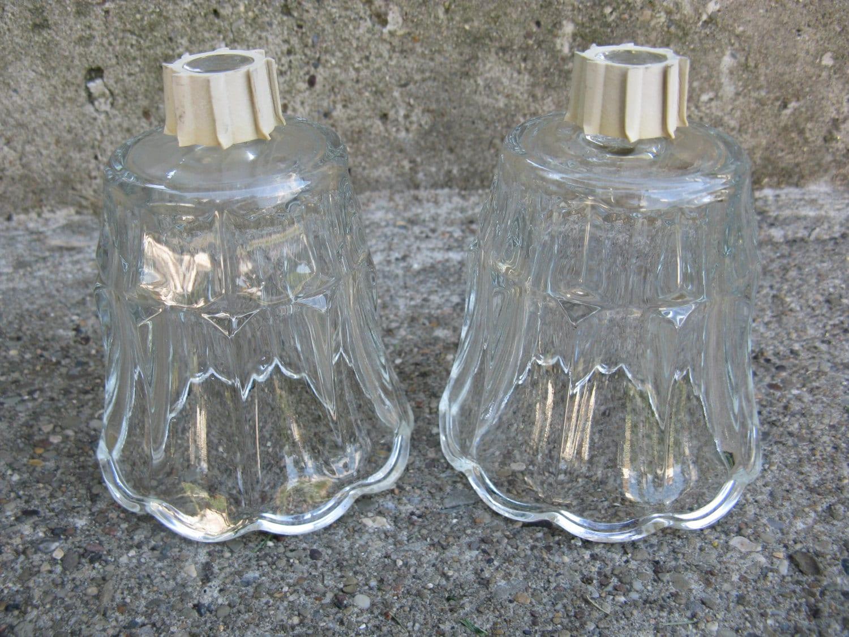 Vintage Homco Votive Cups Home Interiors Clear Glass Votives