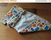 Earth Day Sale A GoSewEco Original Design Reusable Cheese Cover / Kiss the Cook