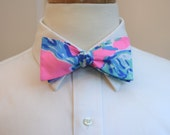 Lilly Bow Tie in pink Barefoot Princess