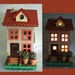 Birdhouse Nightlight Lamp Duplex Townhouse