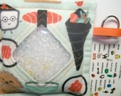 I Spy Bag Sushi Neutral themed contents girls boys seek and find game party favor sensory occupational therapy