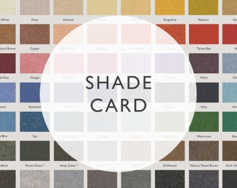 Shade card