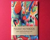 Notebook, Jotter, Mini Sketchbook | Wild Flowers