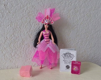 Action Figure, Princess Tenko in the Rose Eagle Fashion from the Princess Tenko and the Guardians of the Magic Series.