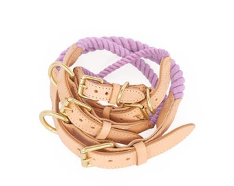 SALE Rope Dog Collar, Dream No. 2