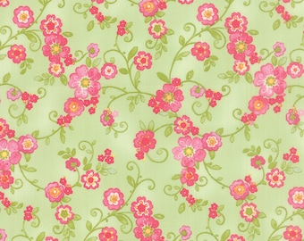 Colette - Flourish in Leaf by Chez Moi for Moda Fabrics