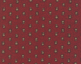 Lizzie's Legacy - Orchards Beauty in Red by Betsy Chutchian for Moda Fabrics