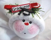 Graduation Gift Ornament Hat Sign Christmas Townsend Custom Gifts