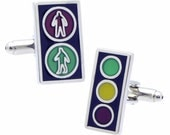 Traffic Light Cufflinks