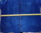 Private listing for Kes/ Asian Style  Men's linen Shirt with Handmade buttons