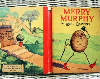 Merry Murphy By Lang Campbell Algonquin Sunny Book Vintage Children's Book Color Illustrations