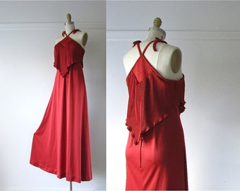 vintage 1970s dress / 70s dress / Go Your Own Way