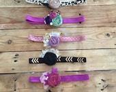 Sale baby toddler headbands cozette couture fall headbands 2.99 each