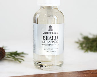 Nordic Evergreen Beard Wash | 100% natural and vegan beard shampoo