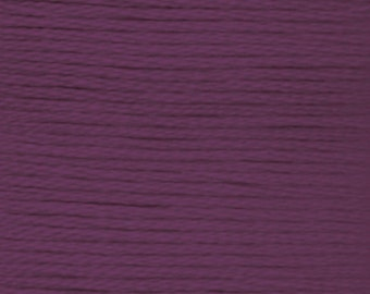 DMC 3834 purple 100% long staple Egyptian cotton thread for embroidery 8m long