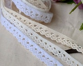 cotton torchon lace by the yard (width 1.2cm) 83493