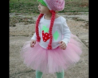 Handmade Strawberry Shortcake Hat