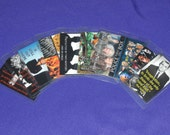 Fandom Inspired Luggage Tags - Supernatural Doctor Who Dracula X Files & More