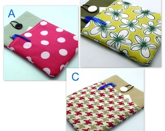 READY to ship - SALE - Kindle case, Kindle touch cover padded (GP6)