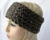KNITTING PATTERN Wicker Warmer pattern for adults and teens, Knit Warmer Pattern, Knit Headband pattern Knit Ear Warmer