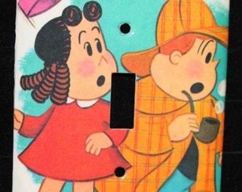 Little Lulu and Tuby Switch Plate Wallplate Light Cover