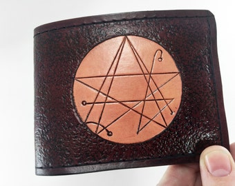 Gateway Sigil - Lovecraft Cthulhu Hand Tooled Wallet