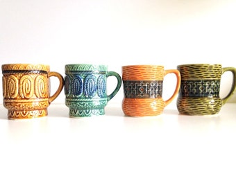 Mid Century Japan Mug Collection