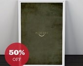 Isle of Misprint Joy Overstock Sale // SAVE 50% off select Vintage Planet Prints
