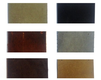 Leather Color Swatches
